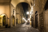 Old street in Florence, Italy