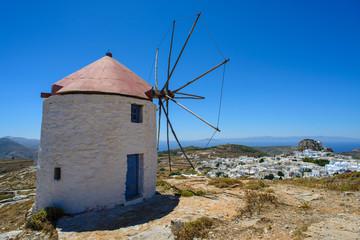 Les moulins d'Amorgos