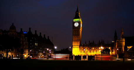 Big Ben, London, midnight.