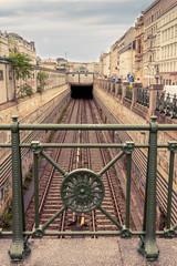 U-bahn Tunnel Naschmarkt Wien