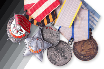 USSR Soviet military awards. Isolated