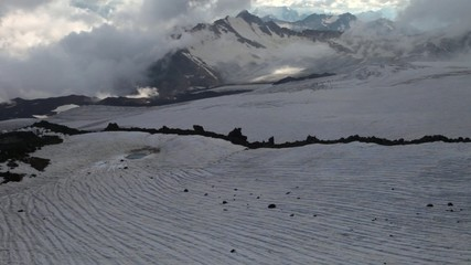 The view from Mt. Elbrus