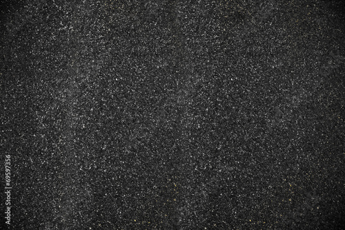 Leinwandbild Motiv black clear asphalt texture background