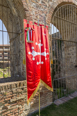 The flag of Pisa