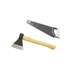axe and saw