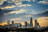 Charlotte, North Carolina Sunset
