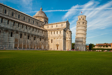 Torre pendente e Duomo di Pisa, cattedrale