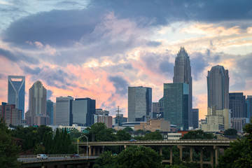 Charlotte, North Carolina Sunset 2
