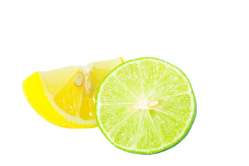 Lime slice clipping path