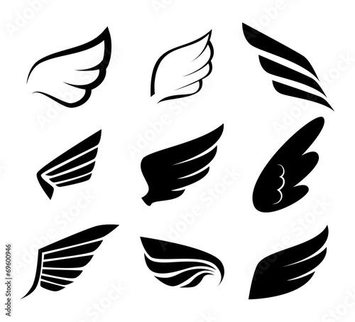 Wings design - 69600946