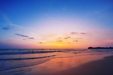 Sunset on phiphi island