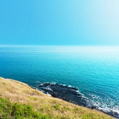 Sea views from cliffs