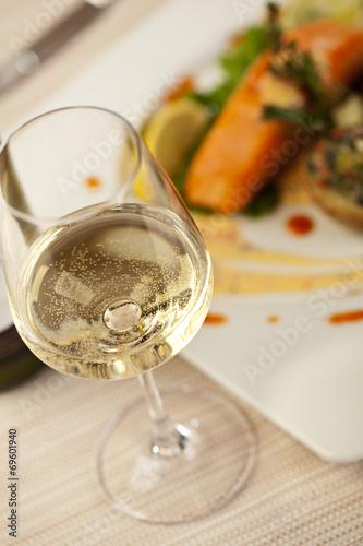 In de dag Buffet, Bar White Wine
