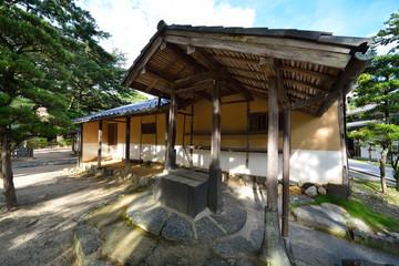 松下村塾の井戸