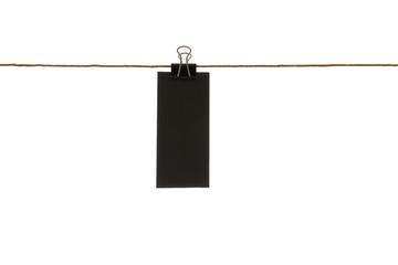 Preis kreide tafel an wäscheleine mit papier klemme