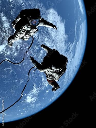 Two astronauts - 69606798