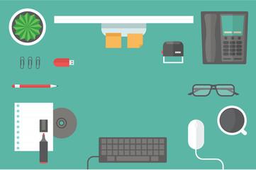 desk header