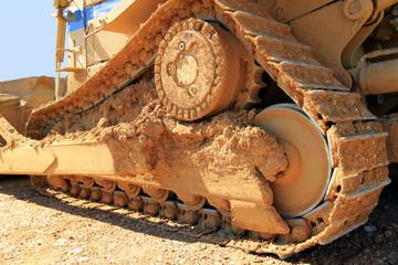 chenille du bulldozer