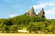 ruins of Trosky Castle, Czech Republic