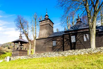 wooden church, Leluchow, Poland
