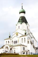 newly built Orthodox church, Medzilaborce, Slovakia