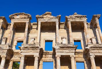 Ancient Celsius Library in Ephesus Turkey