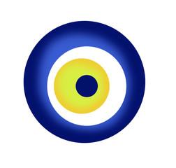 Turkish evil eye bead (Nazar)