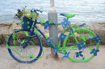 Bici floreale