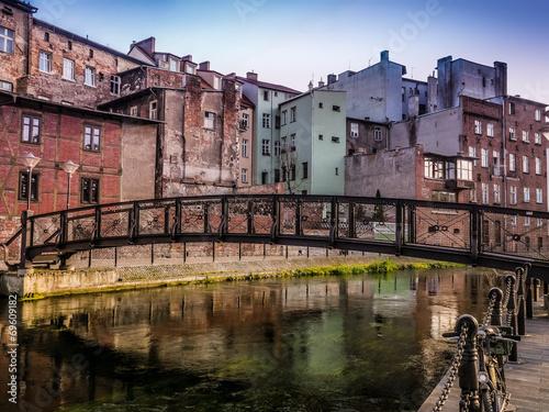 Zdjęcia na płótnie, fototapety na wymiar, obrazy na ścianę : Bydgoszcz Canal
