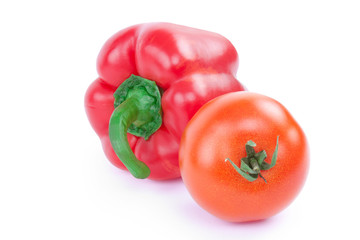 tomato and red pepper