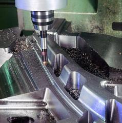 Lavorazione meccanic acciaio - Fresatura