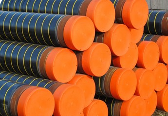 plastic pipes and conduits for transporting gas