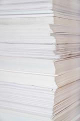 Huge paper stack