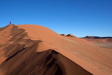Namibia dune nel deserto rosso
