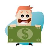 geld sparen verdienen mann business