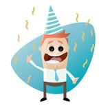 party feiern business mann lustig