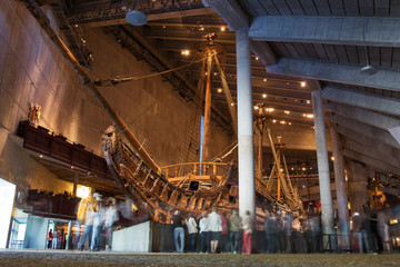 The Vasa Museum in Stockholm, Sweden.