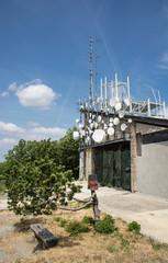 Telecommunications antennas