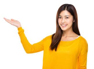 Asian woman present