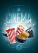 Cinema Poster Design Template - 69614598