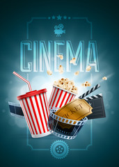 Cinema Poster Design Template