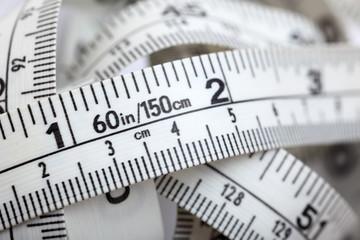 Tape measure close-up
