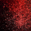 Red glitters on a soft blurred. EPS 10