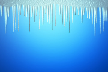 Ice cave illustration