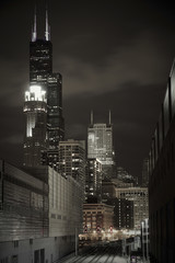 Chicago Skyline Willis Tower