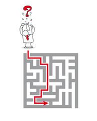 the complex maze