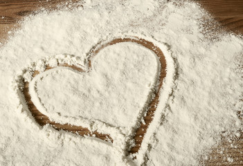 baking love concept