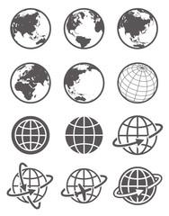 グローバルイメージ・地球・アイコン