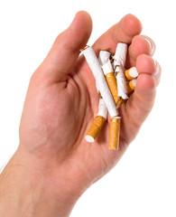 Cigarettes. No smoking