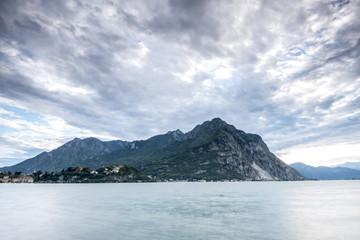 Long exposure on como lake